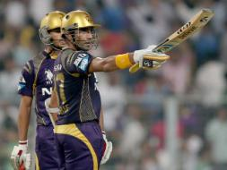 Photo : IPL 7: Kolkata Knight Riders Roar Into Playoff Contention With 8-Wicket Win over CSK