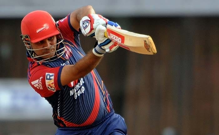 Virender Sehwag: With a team full of inexperienced players, the Daredevils heavily rely on their skipper to take them to a win. It's no surprise then that the Delhi team is struggling and is languishing at the bottom as Sehwag is yet to fire.