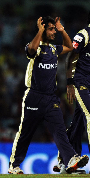 Iqbal Abdulla: Stopped Murali Vijay early in the opening match and then brought home 3 wickets in the next match against the Deccan Chargers to help KKR win its first match of the tournament. The 21-year-old spinner from Mumbai has 88 wickets from 28 first class matches.