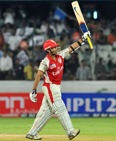 Paul Valthaty: This man has risen from nothing and has an average of over 100 after scoring 201 runs in 3 games. That he struck 120 off 63, the first century of IPL 4 and then came in the next match to take 4 wickets and score another half-century, has made him an overnight star.