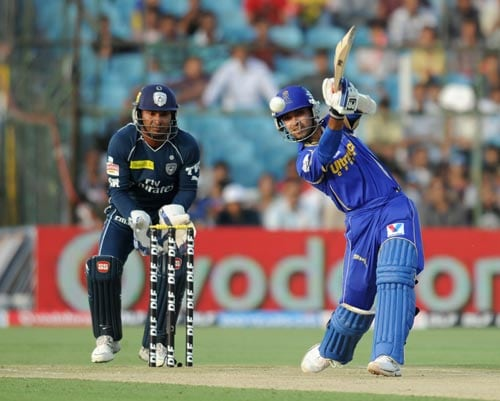 <b>Ajinkya Rahane: </b>Rajasthan Royals opener Ajinkya Rahane has played both ODIs and T20s for India and he's someone the selectors will be watching very closely for a possible recall. The 23-year-old batsman smashed the maiden century of IPL 5 and has hit the maximum number of 4s so far in the tournament.
