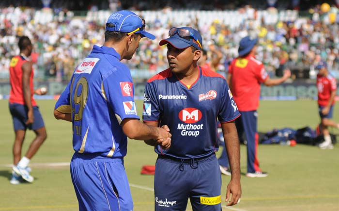 Rajasthan Royals chose to jig things up a bit and opted to bat against Delhi. It was a wise decision from skipper Rahul Dravid as his side secured a 5-run win despite playing as the away team. (BCCI image)