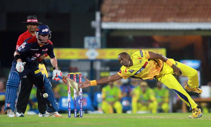 Chennai's bowlers were all over Delhi, having them at 63/5. (BCCI Image)