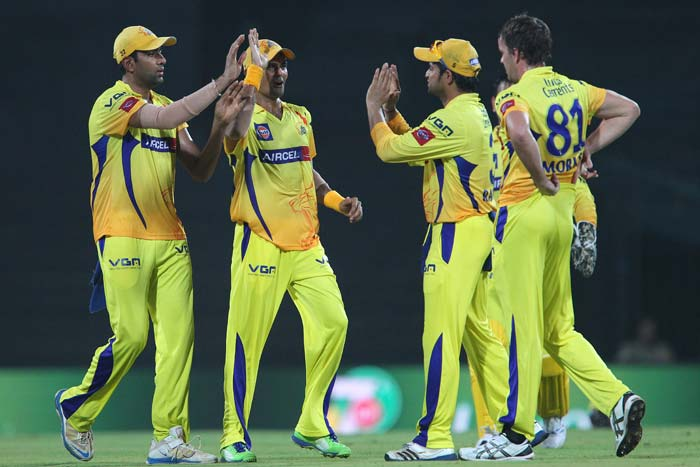 Chennai Super Kings went back to the top of the table with a 33-run win over Delhi Daredevils at Chepauk in Delhi. (BCCI Image)