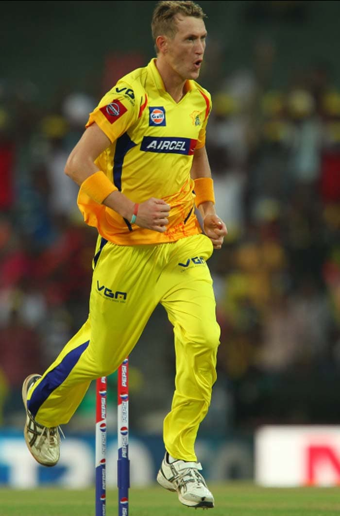 Chris Morris bowled a superb last over for just four runs which gave Chennai Super Kings a 14-run win over Kolkata Knight Riders. (Image Credit BCCI)
