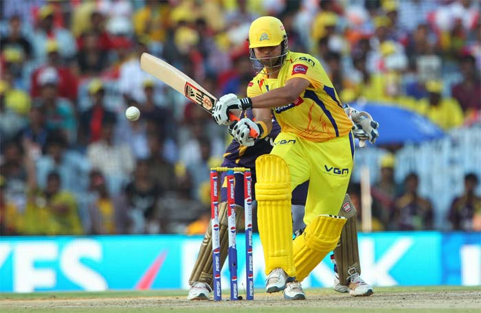 Suresh Raina provided a late burst with 44 runs off 25 balls. (Image Credit BCCI)