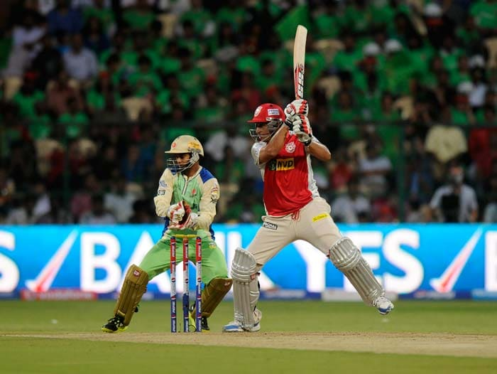 Azhar Mahmood hit 61 from 41 as Punjab coasted home with 11 balls to spare. (BCCI Image)