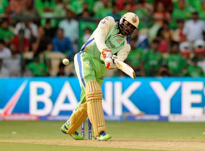 Despite losing Cheteshwar Pujara early, Chris Gayle hit 77 from 53. (BCCI Image)