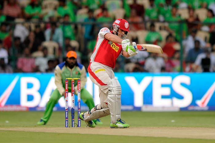Adam Gilchrist went for the runs after losing Shaun Marsh to Zaheer Khan. (BCCI Image)