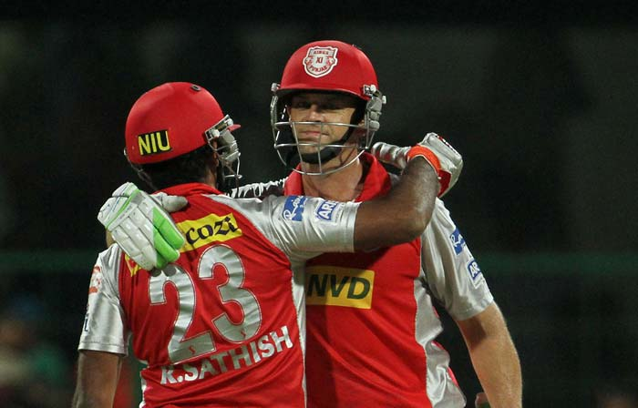 Adam Gilchrist's 85 not out from 54 balls sealed a win for Punjab by 7 wickets over Bangalore. (BCCI Image)
