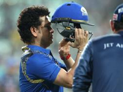 Photo : IPL 2015: Sachin Tendulkar Takes Centrestage for Mumbai Indians