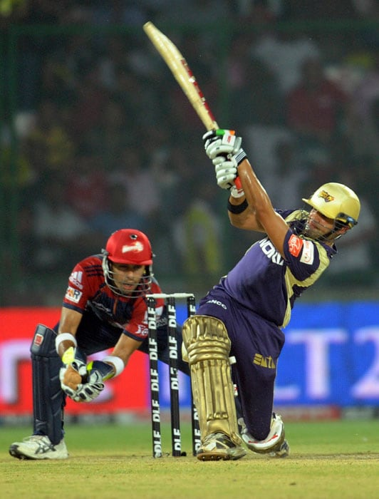 He made possible, what Shah Rukh Khan had been dreaming of, Sourav Ganguly couldn't do, John Buchanan wrote on paper and tossed it in the bin and Brendon McCullum had no clue about in the first three seasons of the IPL. Gambhir led from the front to take the KKR atop the points table, even if the stay was a short one, with Lady Luck smiling beside him.
