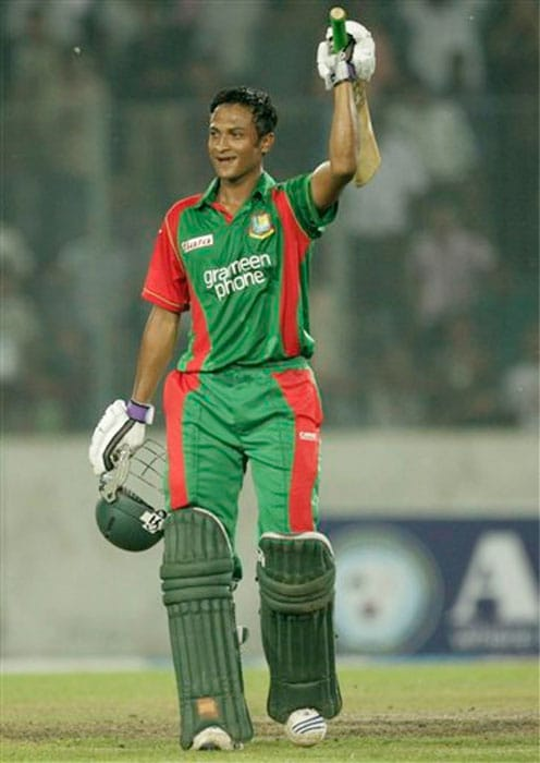 Shakib Al Hasan<br><br>Team: Bangladesh<br><br>Base Price: $200,000<br><br> The Bangladesh captain has been among the top all-rounders in the world in almost all forms of the game off late and has been a stand out performer for the minnows. His left arm spin is more than handy as we is capable of both picking up wickets as well as stemming the run flow. He may not be as explosive with the bat as many others but his ability keep his cool in demanding situations, especially during a chase is what makes him a reliable middle-order choice.