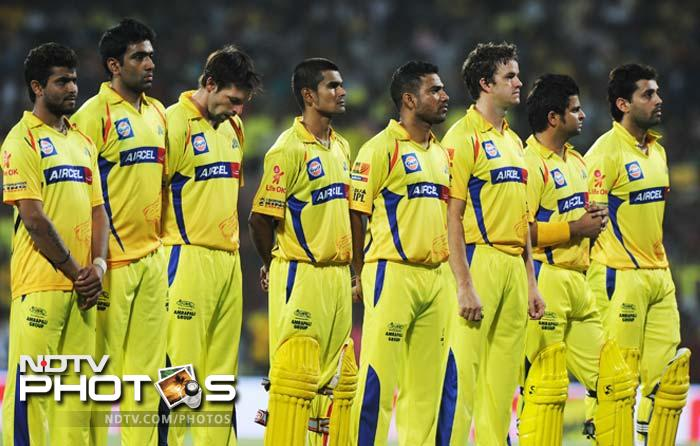 This was Chennai Super Kings' fourth time in the IPL finals. They have won two and been the runner up once, in the first year of the IPL. (AFP PHOTO/ Manjunath KIRAN)