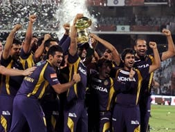 Kolkata Knight Riders win the IPL 5