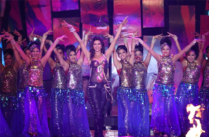 Deepika dancing to the beats of her favorite number.(BCCI Image)