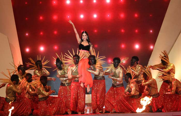 Katrina's performace during the opening ceremony of IPL 6(BCCI Image)