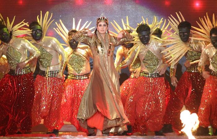 Katrina Kaif and her glamorous entry. (BCCI Image)