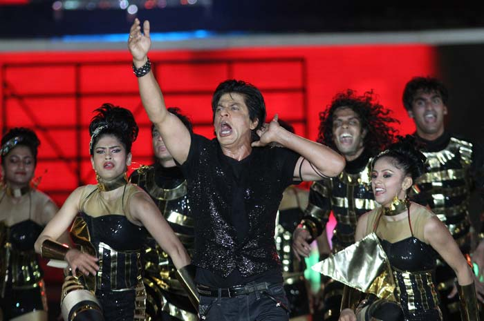 SRK later returned to thank all for supporting IPL. (BCCI Image)