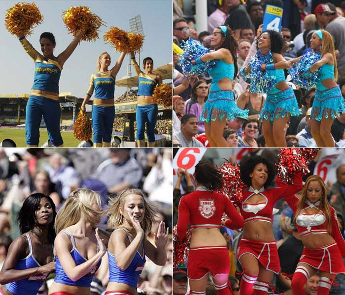 In an IPL related legal case, the relevance of cheer girls was brought up. Though opinions remain divided, it's a certainty that a little cheer never really harmed a sport. A look at the cheer teams of the different sides of this league. (Images: Agencies)