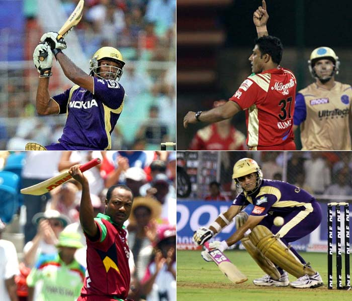 They played their best and earned a repute for themselves. It could still not get them a spot during the IPL 4 auctions. Well experience is not completely invalid as teams now get back to recalling some of these thunderous superstars of the sport. A look. (Images: Agencies)