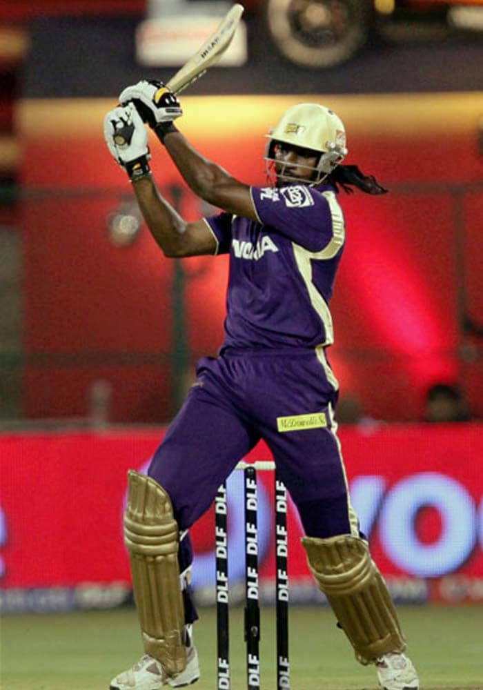 Unlike Lara and Kumble however, Gayle was roped in eventually by the Royal Challengers Bangalore and he slapped his way to an aggressive century against his former team to prove that he is still a fighter and has a lot still to give.