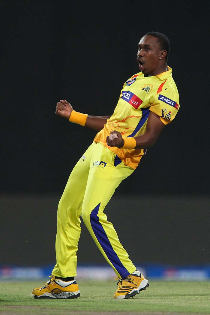 For Chennai Super Kings, Dwayne Bravo claimed four wickets and ensured that though Mumbai managed to reach a decent total of 148, did not unleash batting carnage at any stage of the innings. (BCCI image)
