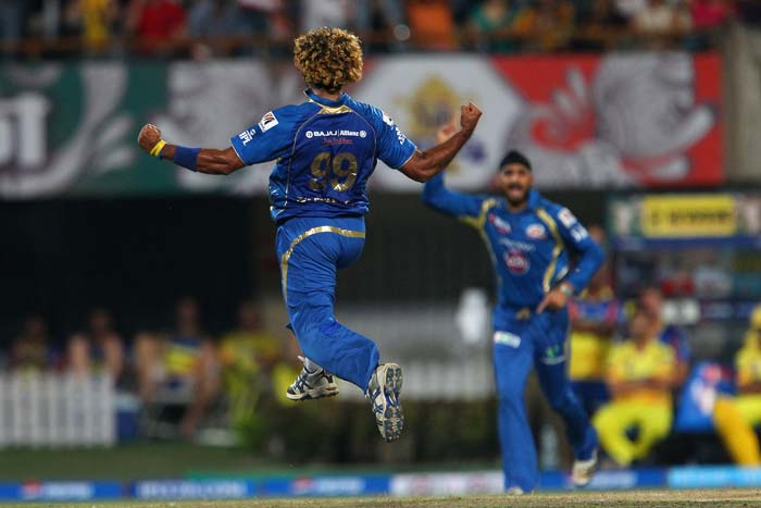 When the chase began, it was all about the Mumbai bowlers.<br><br>Lasith Malinga struck twice in the first over to hurt Chennai's plans. (BCCI image)