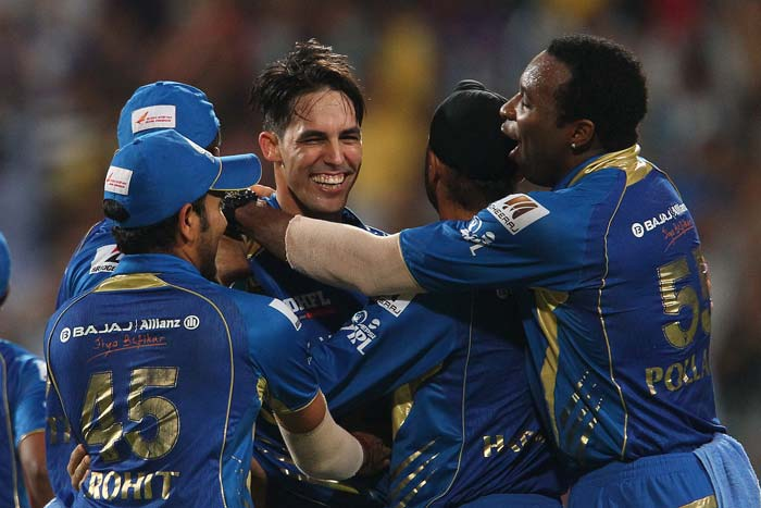 Mitchell Johnson too claimed two wickets and provided good support to his fellow bowlers. (BCCI image)