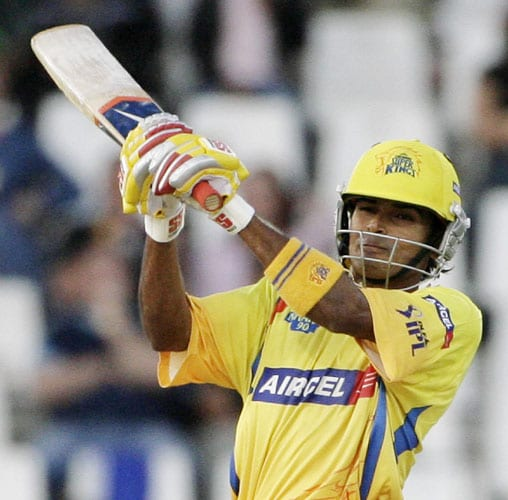 Subramaniam Badrinath sold to Chennai Super Kings for $800,000.