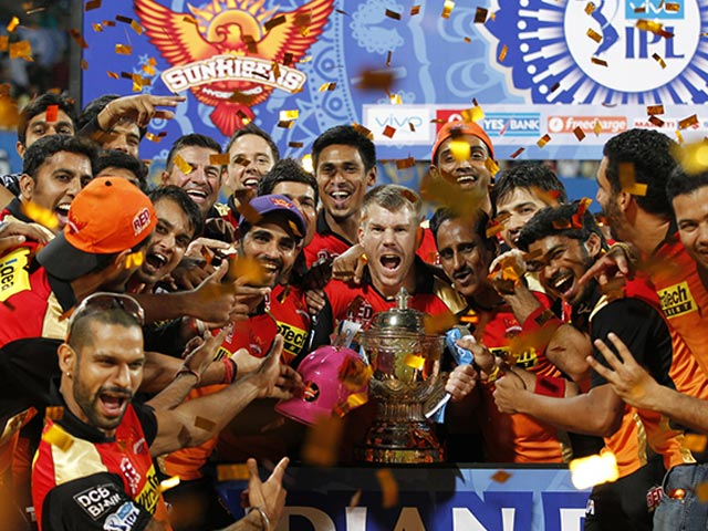 IPL: David Warner's SRH Celebrate in Style After Clinching Title