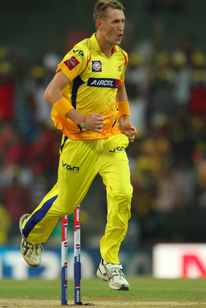 Playing in his debut IPL season, South African all-rounder Chris Morris has been a revelation. He has 14 wickets in 15 matches and has regularly kept fellow countryman Albie Morkel on the bench. (BCCI image)