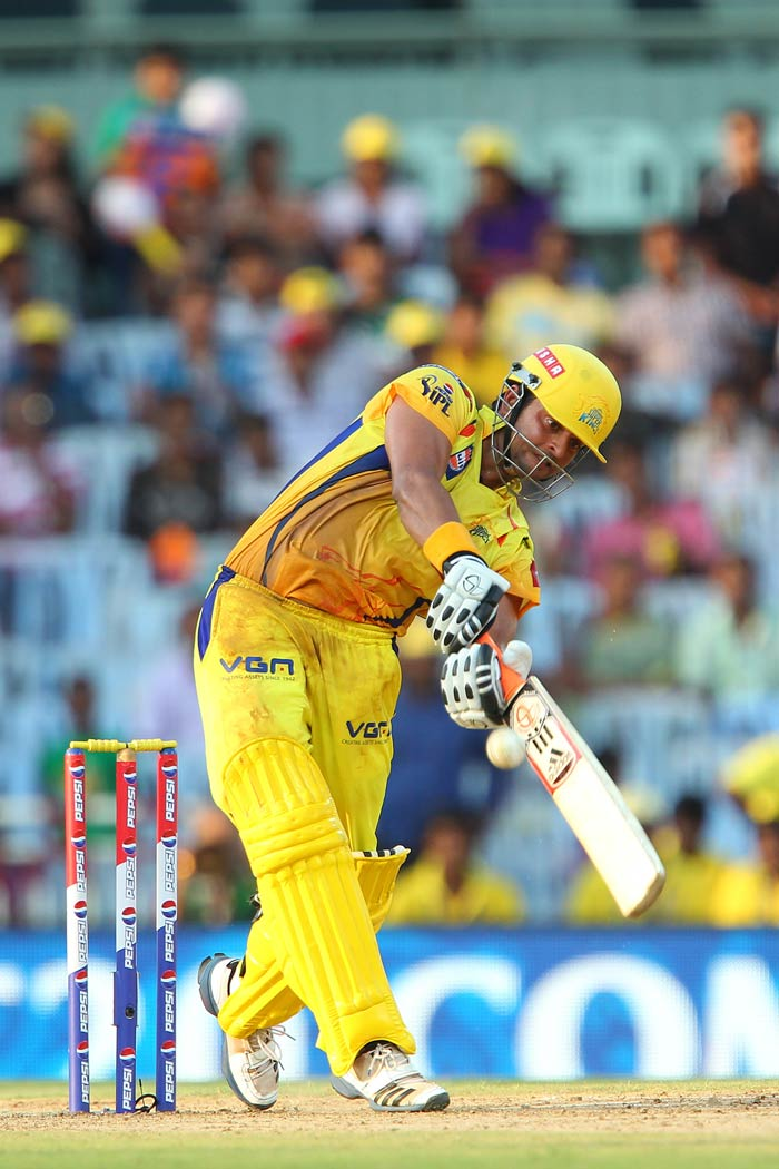 After starting the season slowly IPLs all-time top run-getter Suresh Raina has found his form at the right time for Chennai, having scored his maiden IPL century. (BCCI image)