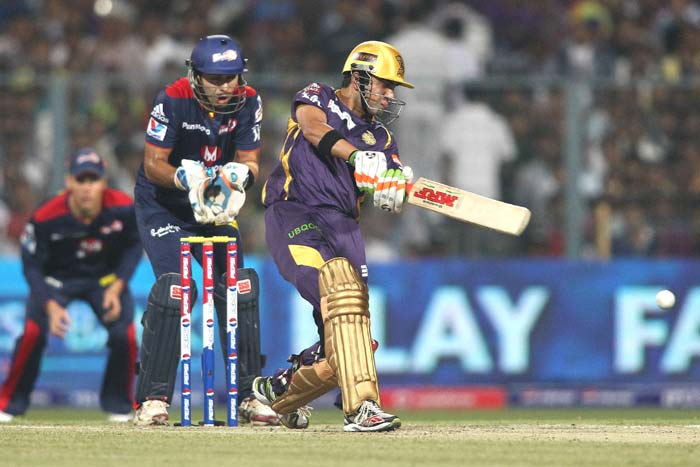 Kolkata Knight Riders started their title defense on a high with a six wicket victory over Delhi Daredevils at Eden Gardens. (BCCI image)