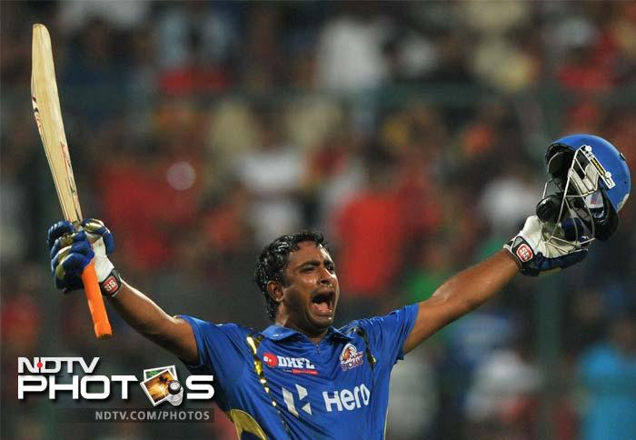 A severe rearguard assault by Ambati Rayudu and Keiron Pollard saw the Mumbai Indians clinch an all important win over the Royal Challengers Bangalore.