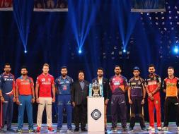 Photo : IPL: Captains Join Hands For Spirit of Cricket Pledge at Opening Ceremony Ahead of Showdown