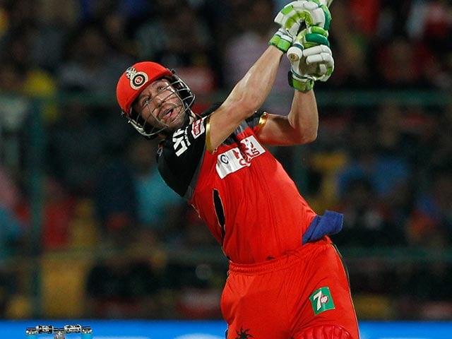 IPL: AB de Villiers' Master-Class Takes RCB Into Final