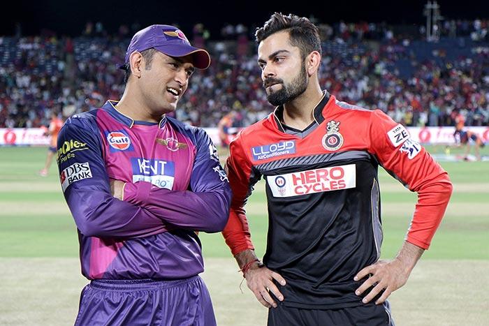 Rising Pune Supergiants captain Mahendra Singh Dhoni won toss and sent ...