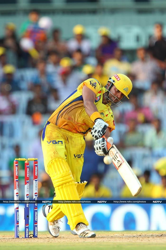 In 99 matches across six seasons, Suresh Raina has slammed 2,802 runs at a strike rate of 141.37. With his consistent ways, he has been Chennai Super Kings' mainstay. (All images AP, AFP, BCCI)