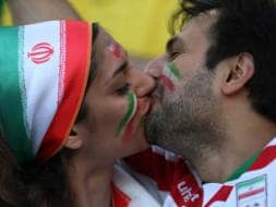 Photo : FIFA World Cup: Iranian Fans Spread Love in Brazil