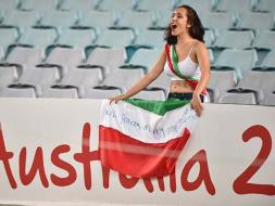 Iran Fans Give Asian Cup a Glamorous Touch