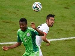 Photo : FIFA World Cup: Iran, Nigeria Play Out First Goalless Draw