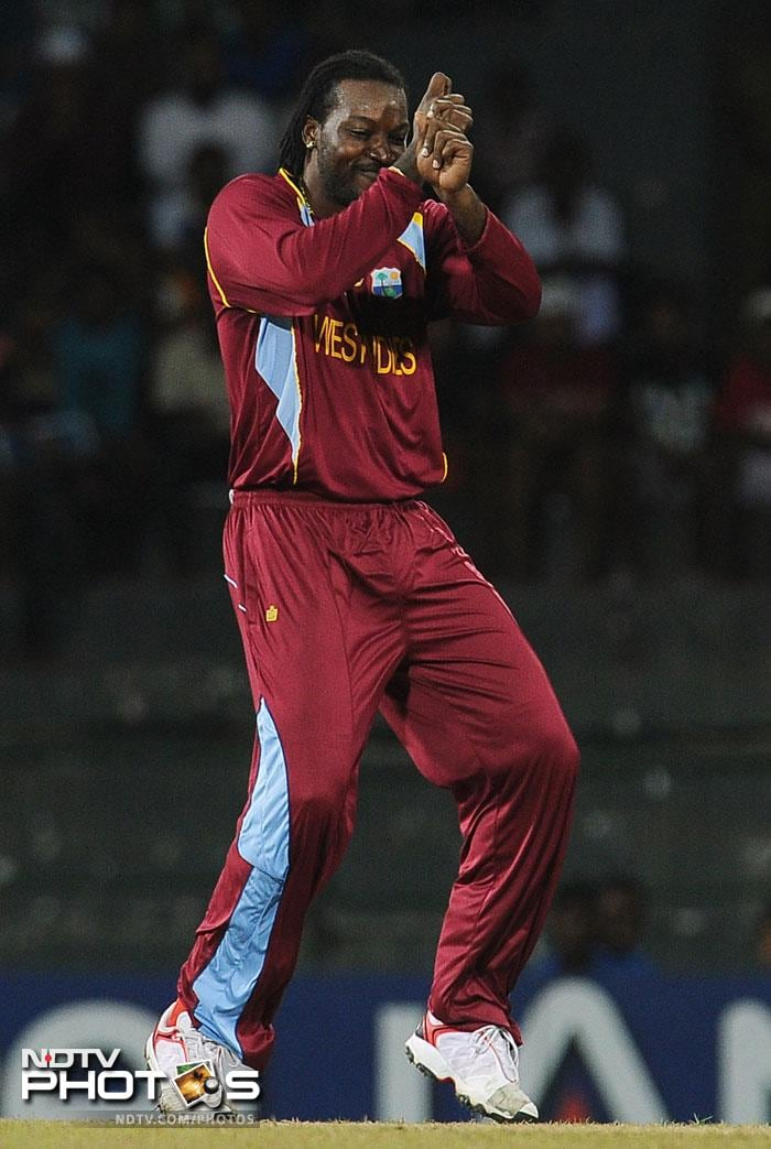 It was Chris Gayle who stole the show though on the field despite the rains 'stealing the thunder' from the match. The swashbuckling opener was not only in good bowling form getting two wickets, but also was in great dancing form. His jigs after the dismissals were nothing short of spectacular.