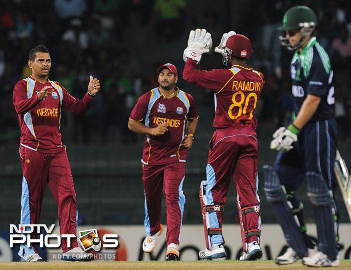 Sunil Narine has been a terror for almost all concerned in this format. Ireland too could not play openly against him, although, he just got the one wicket in the match that of Ed Joyce.