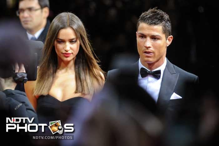 Dating the stunning 27-year-old Russian model, Ronaldo has been as successful off the field as on it.<br><br> Many feel he should have been awarded the title this year but it wasn't meant to be. He however does make a stunning pair with Irina and in the longest scheme of life, that is what truly matters.(AFP image)<br><br> Click on for more images on the couple.