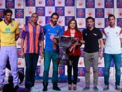 Photo : Indian Super League Trophy Launched