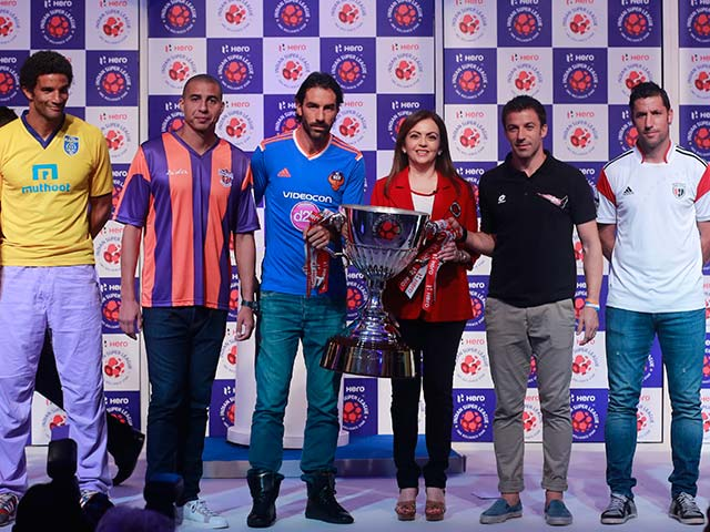 Indian Super League Trophy Launched
