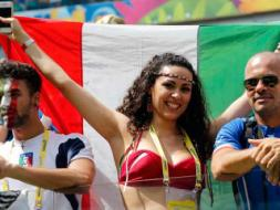 Photo : FIFA World Cup: Italian Fans Stunned After Loss to Costa Rica