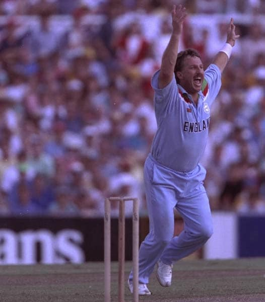 """The other country to sport blue was the traditional expats of the sport itself. England sported a sky blue shade and as a female cricket fan reportedly put it while describing Ian Botham: If his bowling doesnt win us matches, his blues on that physique will at least win us hearts."""" Engaland lost to Pakistan in the World Cup final."""