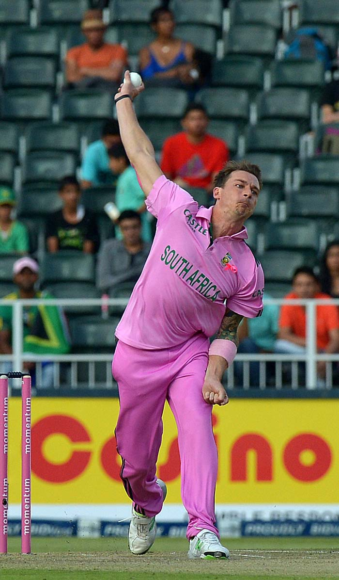 Dale Steyn ended with three wickets as the Protea pacers routed India for 217, resulting in a 141-run win for the hosts.